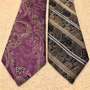Brand New Trendy Ties By WESTBURY and PRONTO UOMO